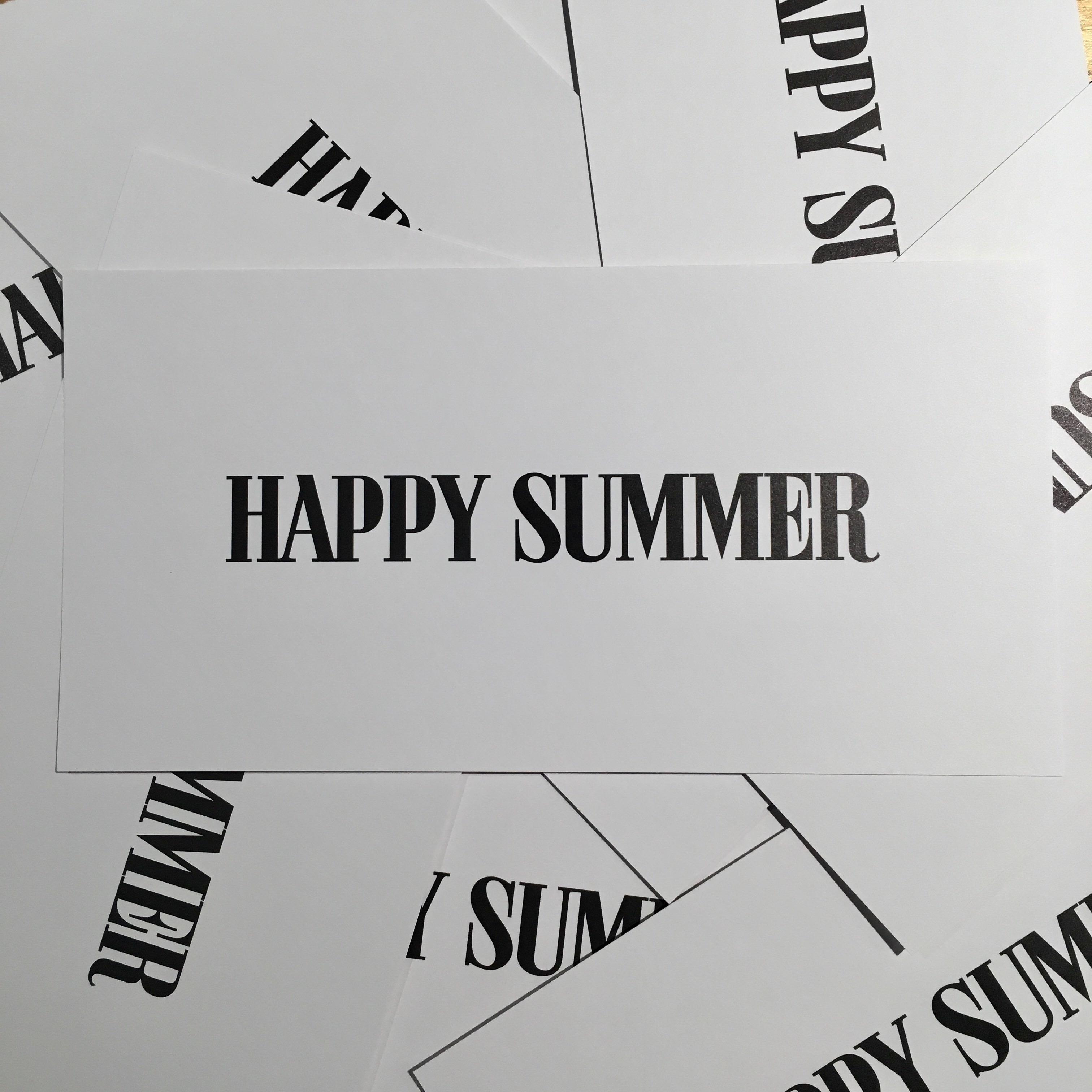 ☆夏休みのお知らせ☆