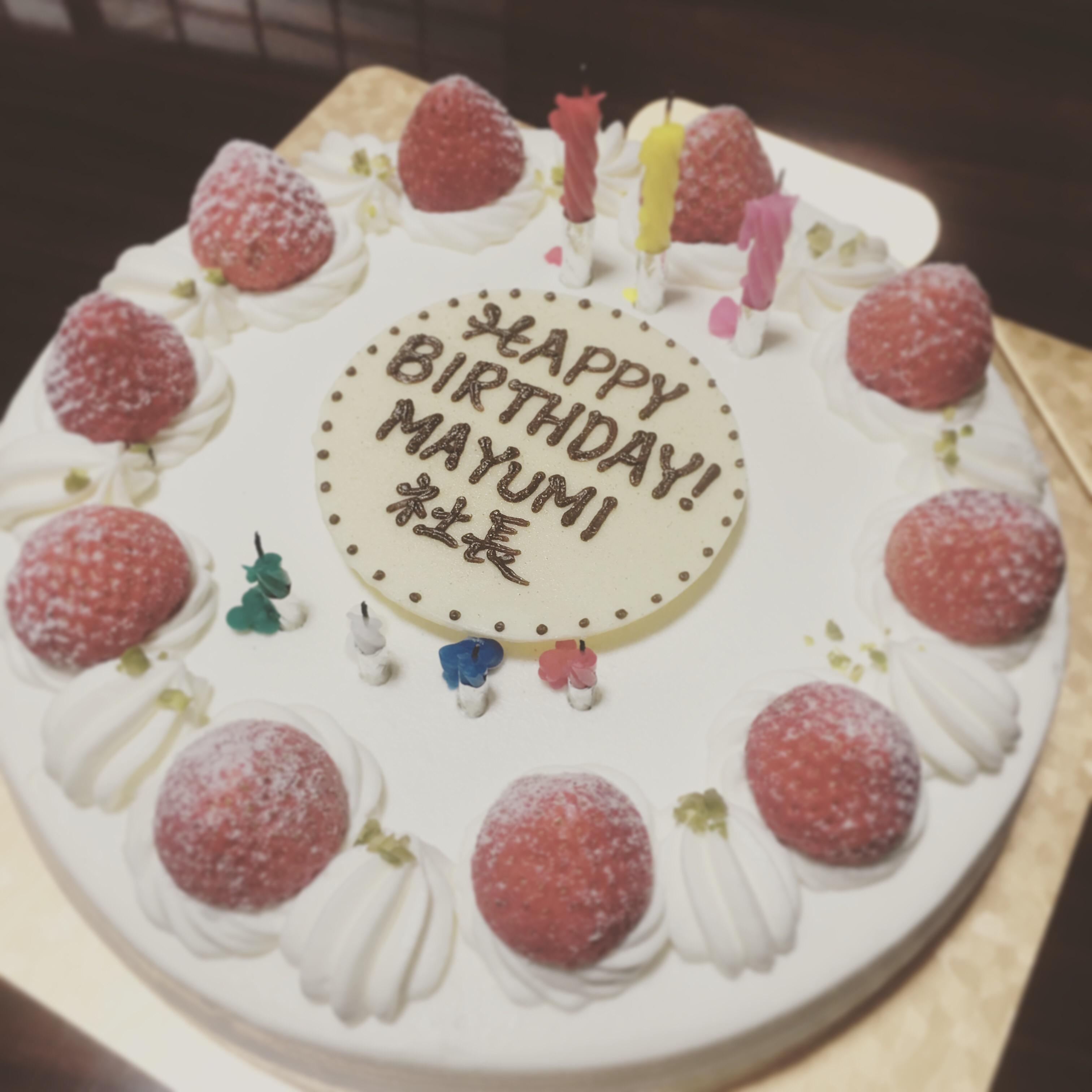 誕生日☆☆☆