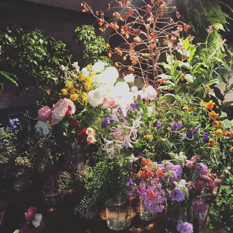 中目黒 ブルーボトル✖️お花屋さん